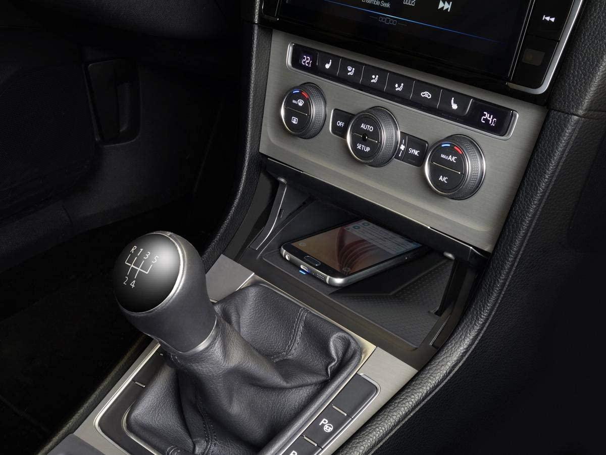Chargeur à induction 10W iPhone, Xiaomi, Huawei et Samsung pour Volkswagen Golf 7