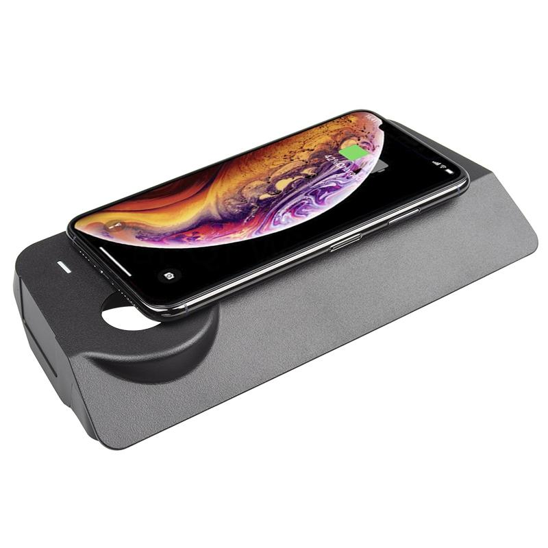 Chargeur à induction 10W iPhone, Xiaomi, Huawei et Samsung pour Jeep Cherokee depuis 2018