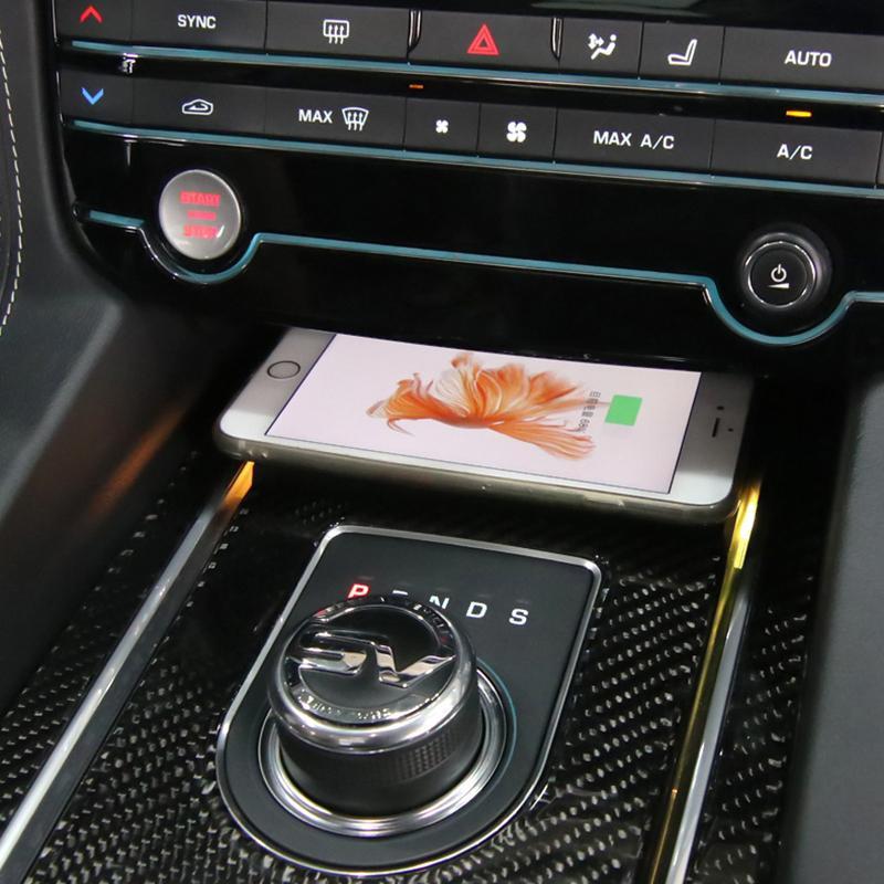 Chargeur à induction 10W iPhone, Xiaomi, Huawei et Samsung pour Jaguar XE, XF, F-Pace de 2015 à 2020