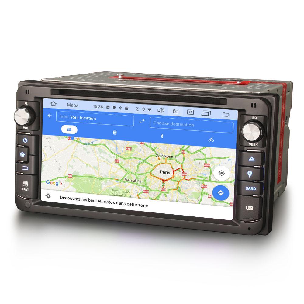 Autoradio tactile GPS et Apple Carplay Toyota RAV4 Hilux Yaris Land Cruiser
