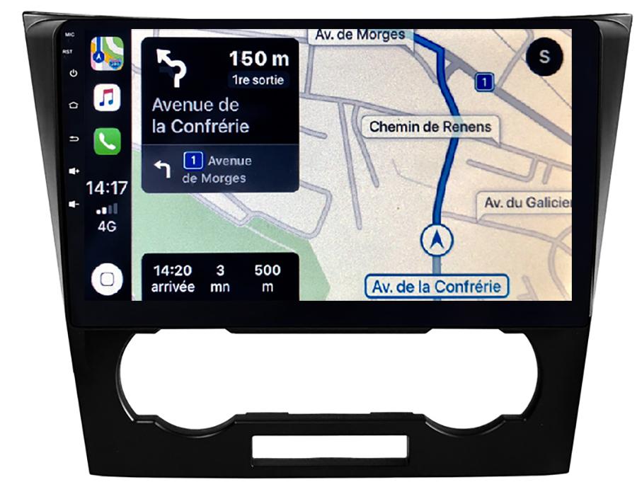 Autoradio GPS à écran tactile QLED Android 11.0 et Apple Carplay Chevrolet Epica de 2007 à 2012