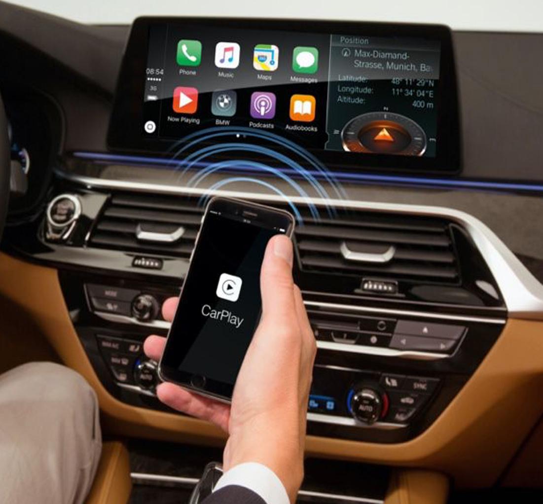 Conversion sans fil Bluetooth pour Apple CarPlay USB - TOUTES MARQUES