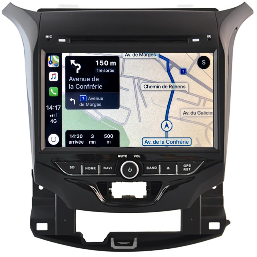Autoradio tactile GPS Android 11.0 et Bluetooth Chevrolet Cruze de 2016 à 2019
