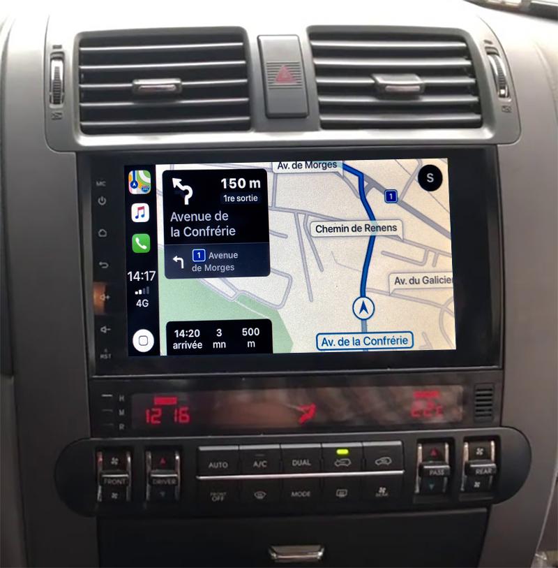 Autoradio GPS à écran tactile QLED Android 11.0 et Apple Carplay Kia Borrego de 2008 à 2018