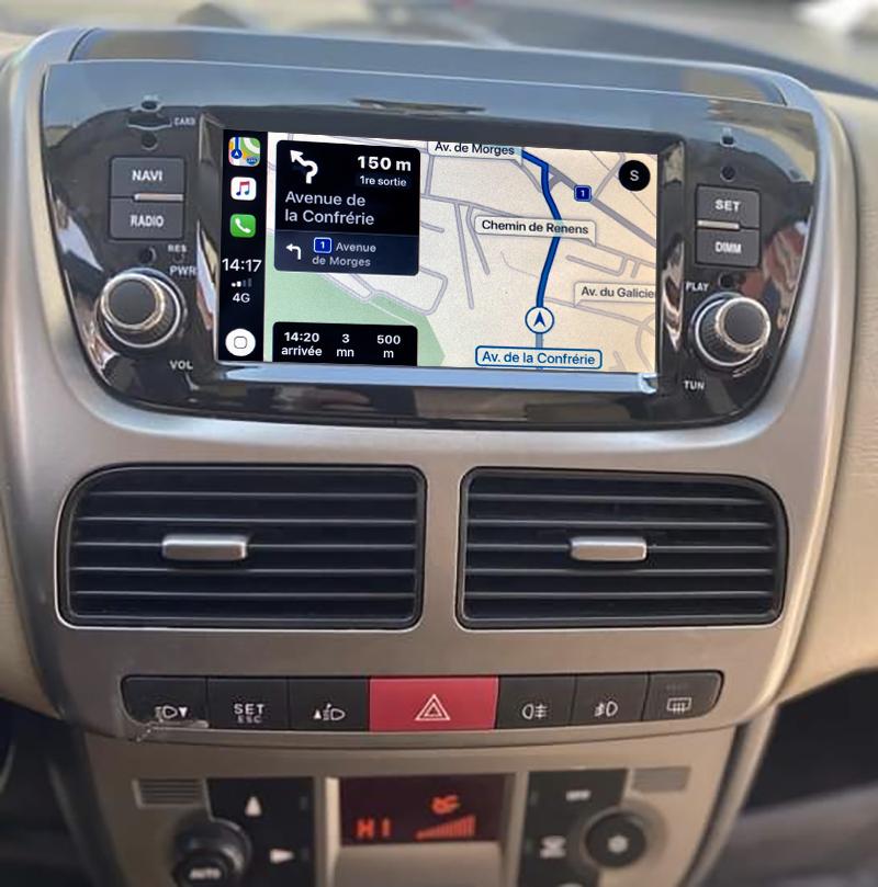 Autoradio tactile GPS Android 11.0 et Apple Carplay Opel Combo de 2012 à 2015