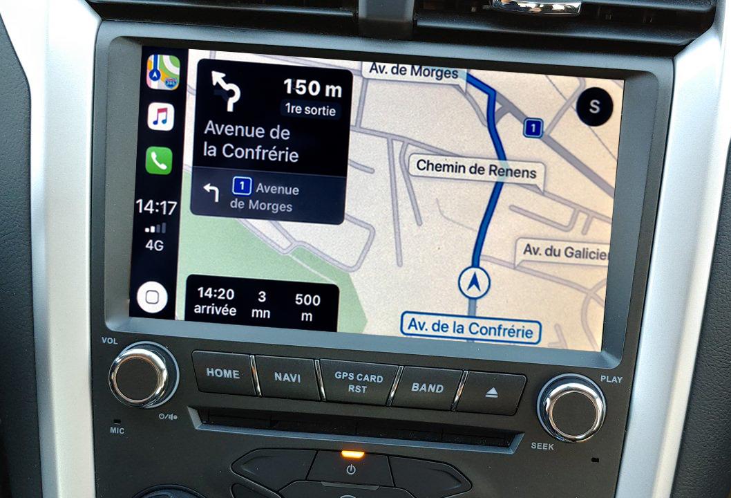 Autoradio tactile GPS Android 10.0 et Bluetooth Ford Mondeo de 2014 à 2019