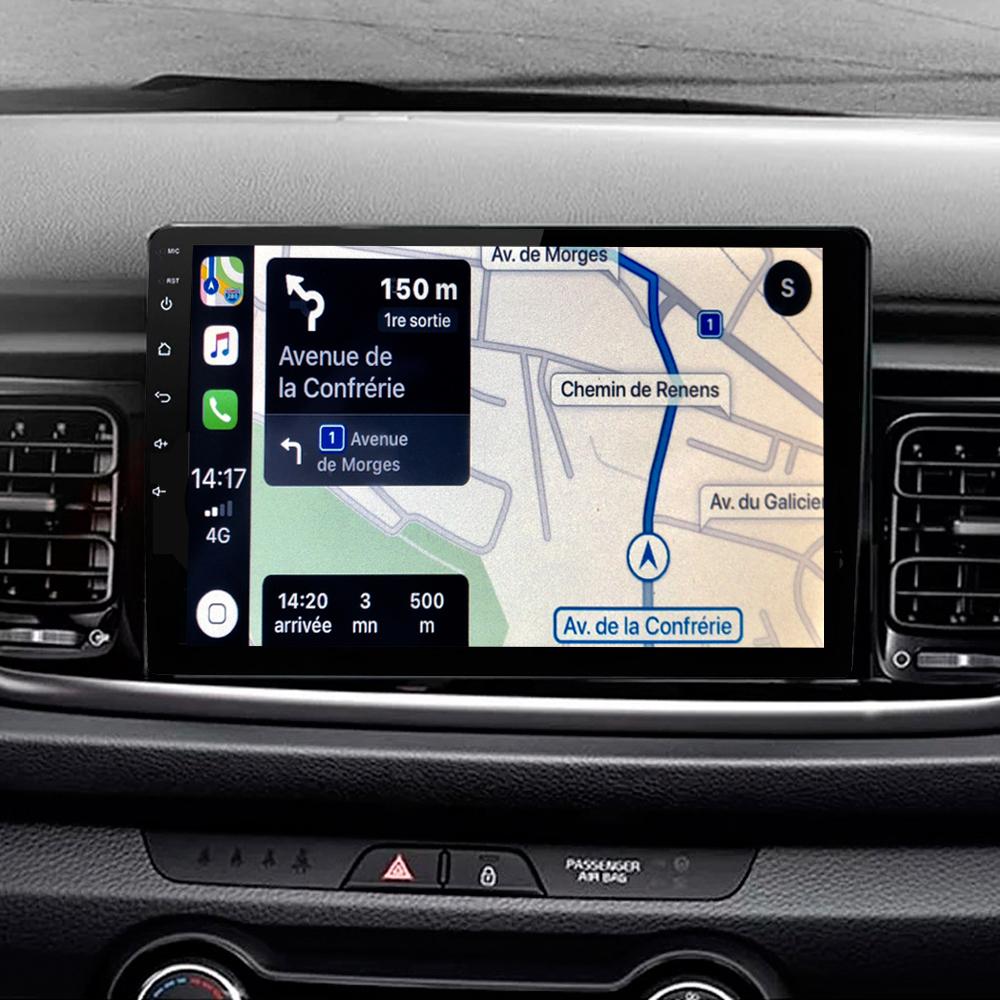 Autoradio tactile GPS Android 11.0 et Bluetooth Kia Rio et Kia Stonic depuis 2017