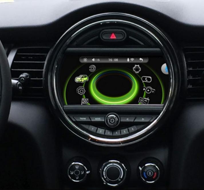Ecran tactile Android 10.0 avec Apple Carplay Bluetooth Mini Cooper F55 F56 de 2014 à 2018