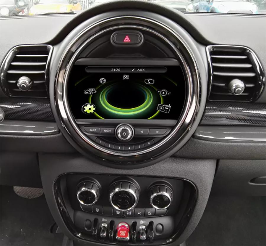 Ecran tactile Android 10.0 avec Apple Carplay Bluetooth Mini Cooper F55 F56 de 2018 à 2021