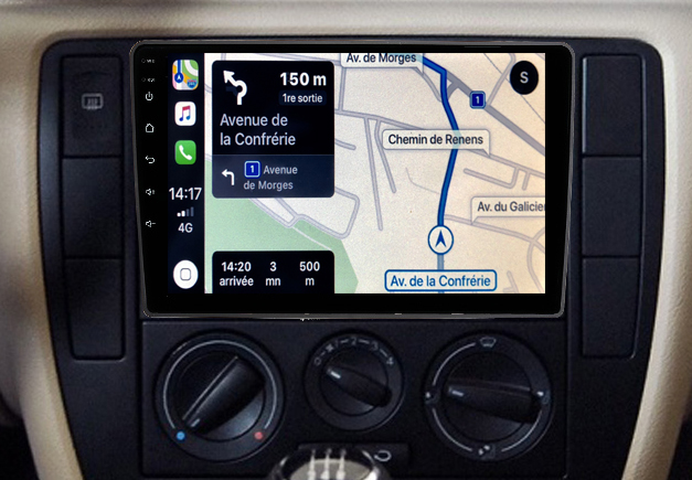Autoradio GPS à écran tactile QLED Android 11.0 et Apple Carplay Volkswagen Passat B5 de 1996 à 2005