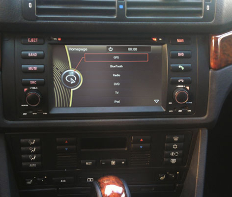 autoradio gps bmw x5 autoradios gps dvd e53 e39 hightech privee. Black Bedroom Furniture Sets. Home Design Ideas