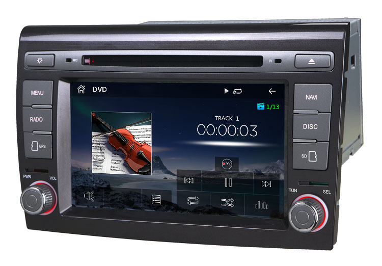 autoradio gps cran tactile fiat bravo avec cran tactile bluetooth dvd. Black Bedroom Furniture Sets. Home Design Ideas