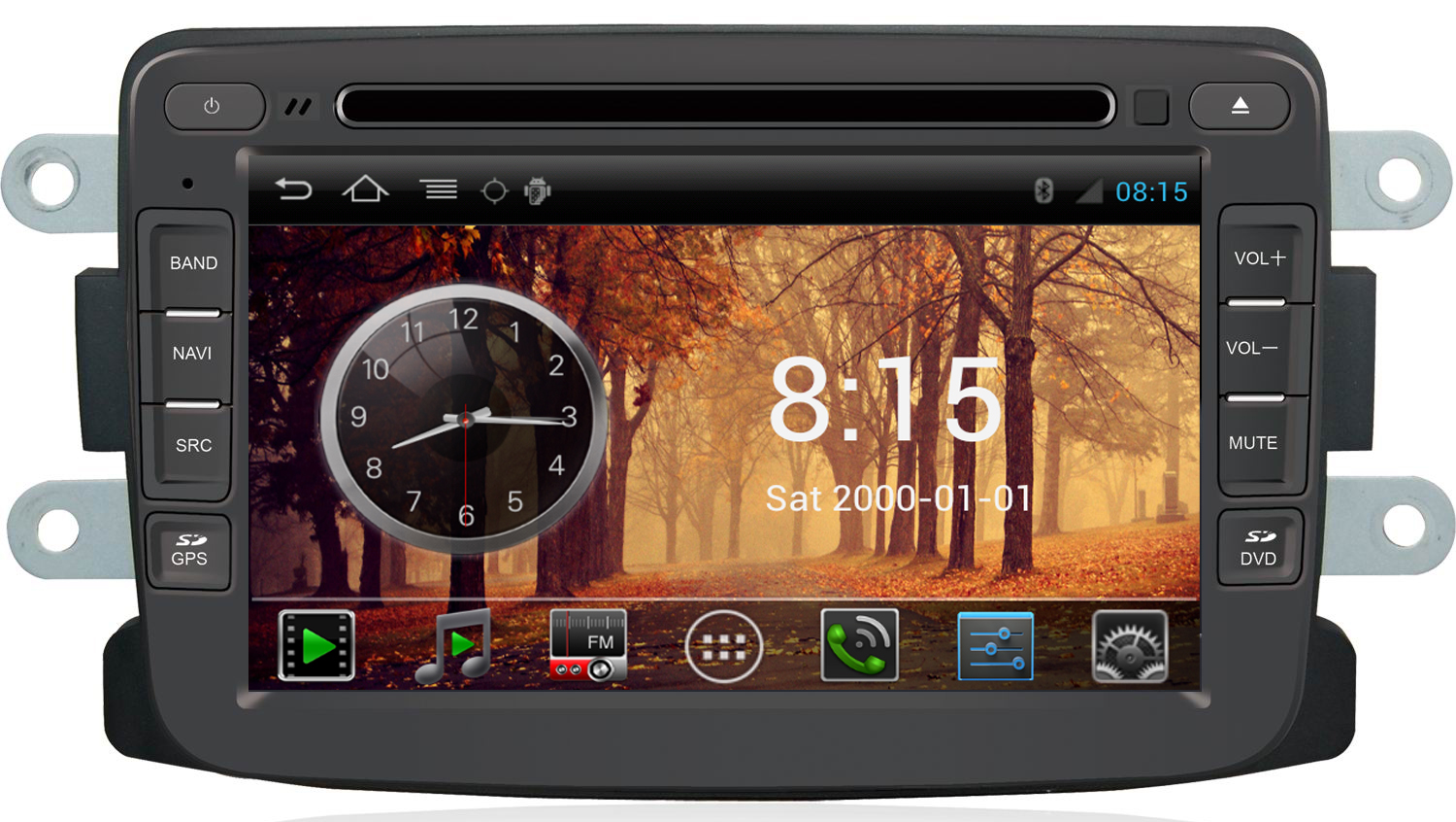 autoradio android gps dacia duster dokker lodgy sandero hightech. Black Bedroom Furniture Sets. Home Design Ideas