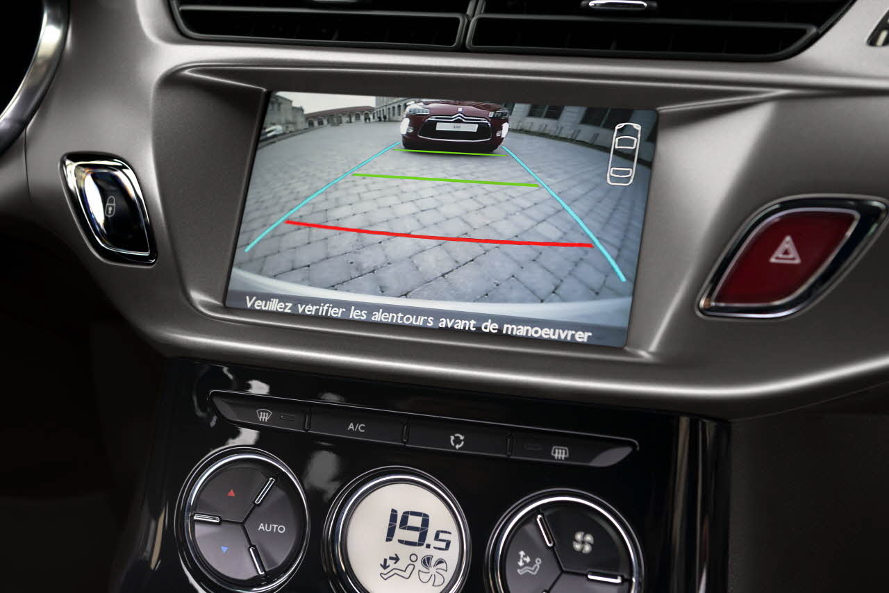 Interface vid o et cam ra de recul pour autoradio citroen for Antenne autoradio interieur