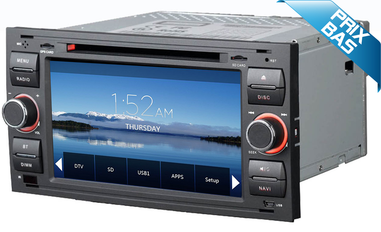 autoradio gps dvd ford kuga c max ecran tactile dvd hightech privee. Black Bedroom Furniture Sets. Home Design Ideas