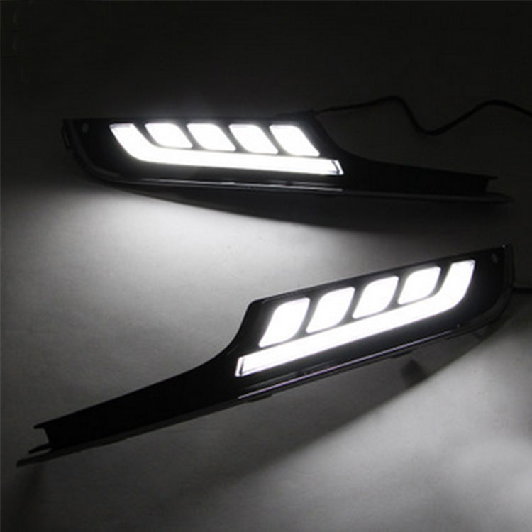 paire de feux de jour leds drl pour volkswagen golf 7 hightech privee. Black Bedroom Furniture Sets. Home Design Ideas