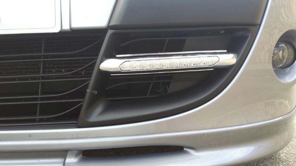60540acec24ac5 Feux de jour à 10 LEDs (DRL) pour Renault Megane 3 de 2011 à 2013