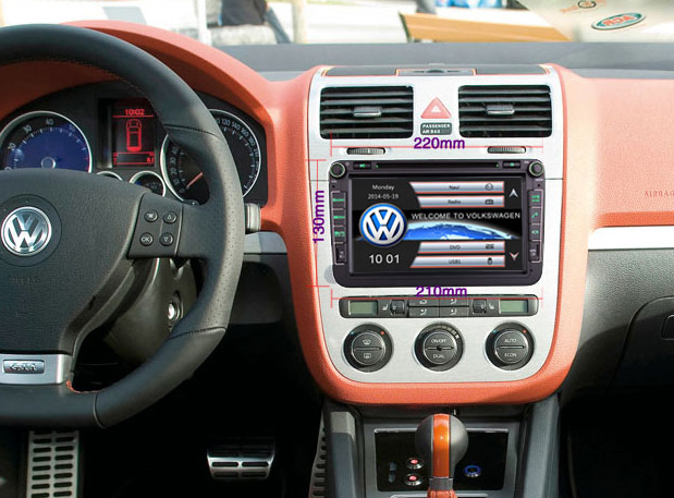 autoradio gps dvd volkswagen eos tiguan golf 6 cran. Black Bedroom Furniture Sets. Home Design Ideas
