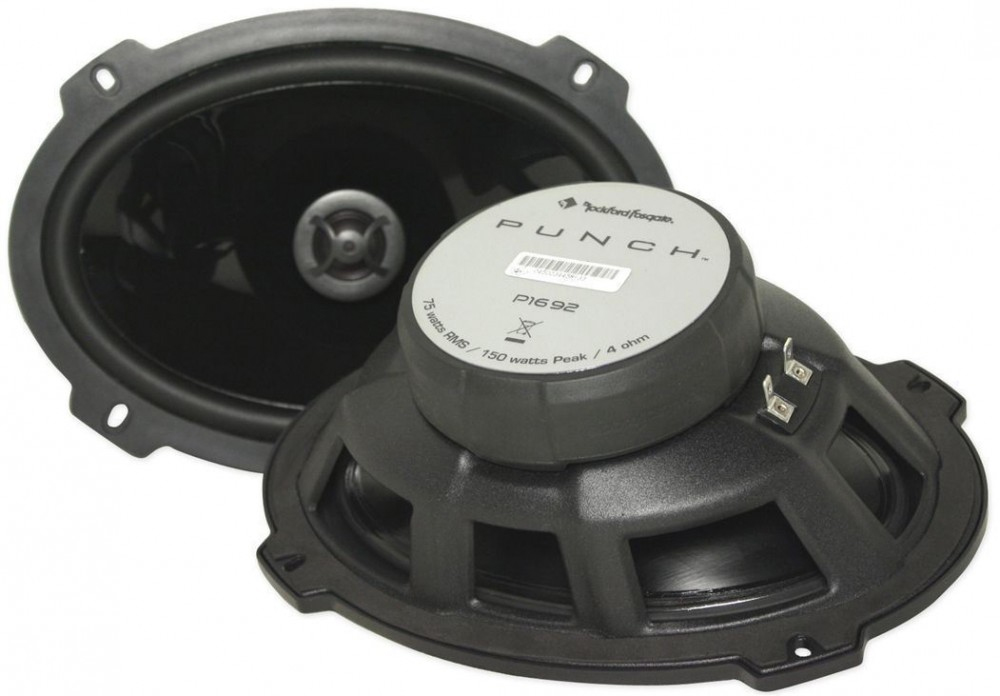 2 x haut parleurs elliptique 6x9 15x23 cm hp p1692 rockford hightech privee. Black Bedroom Furniture Sets. Home Design Ideas