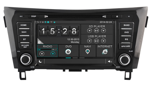 autoradio gps nissan qashqai depuis 2014 gps nissan x trail hightech. Black Bedroom Furniture Sets. Home Design Ideas