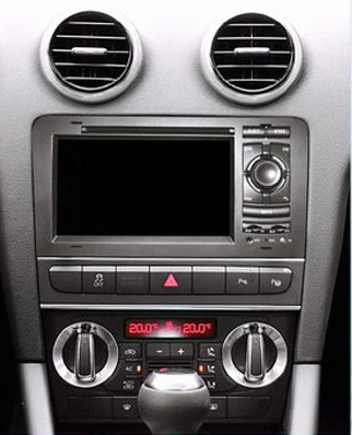 autoradio gps audi a3 cran tactile 7 pouces hightech. Black Bedroom Furniture Sets. Home Design Ideas