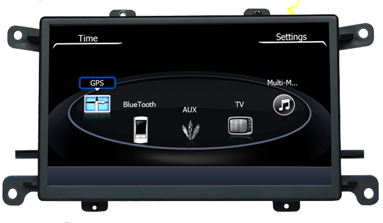 autoradio gps audi q5 a4 et audi a5 cran tactile 7 pouces hightech privee. Black Bedroom Furniture Sets. Home Design Ideas