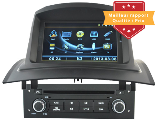 autoradio gps dvd renault megane ii 2 autoradios gps dvd hightech privee. Black Bedroom Furniture Sets. Home Design Ideas