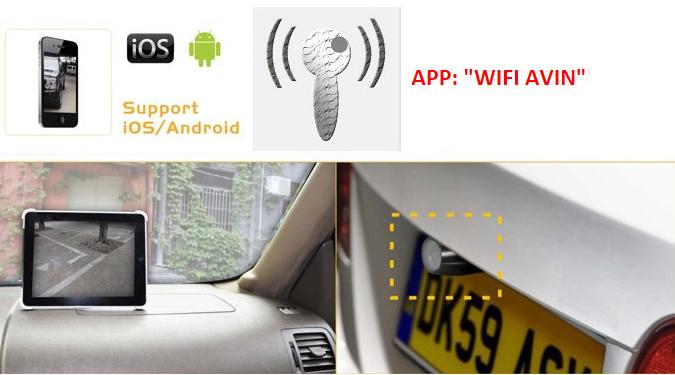 transmetteur wifi pour cam ra de recul iphone hightech privee. Black Bedroom Furniture Sets. Home Design Ideas