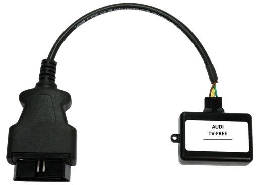 Boitier de déblocage DVD/vidéo en roulant pour Audi MMI 3G