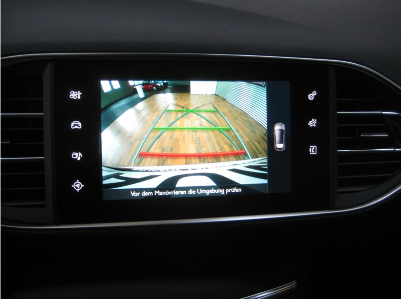 interface cam ra vid o compatible peugeot hightech privee. Black Bedroom Furniture Sets. Home Design Ideas
