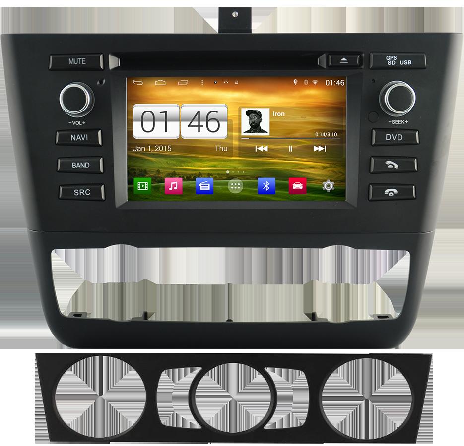 bmw autoradio chinois android commande au volant. Black Bedroom Furniture Sets. Home Design Ideas