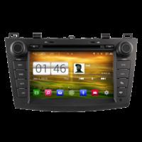 Autoradio Android 4.4.4 GPS Mazda 3 de 2010 à 2013