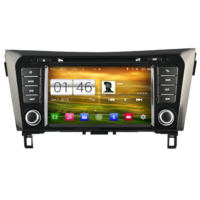 Autoradio Android 4.4.4 GPS Nissan X-Trail et Qashqai depuis 2014