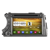 Autoradio Android écran tactile GPS DVD Ssangyong Actyon & Kyron de 2006 à 2010