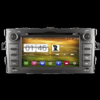 Autoradio GPS Wifi Bluetooth Android Toyota Auris de 2007 à 2012