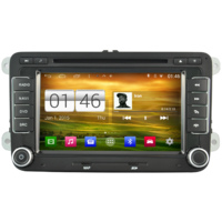 "Autoradio Android 4.4.4 GPS Volkswagen Golf 5,  Golf 6, Beetle, Eos, Touran, T5, Tiguan, Polo, Caddy, Passat, Jetta, Amarok, Sharan - Ecran 6,5"""