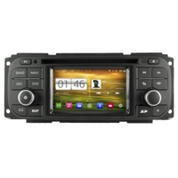 Autoradio GPS Android 4.4.4 Jeep Wrangler, Cherokee, Grand Cherokee