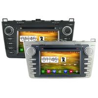 Autoradio Android 4.4.4 Wifi GPS Waze Mazda 6 de 2008 à 2012