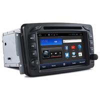 Autoradio Android Wifi GPS écran tactile Mercedes Classe A W168, Classe C W203, Classe E W210, ML W163, CLK, SLK W170, Classe G, Viano & Vito
