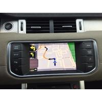 """GPS Evoque sur votre autoradio d'origine 8"""" Range Rover Evoque (entrée caméra de recul en option) 2011 à 2015"""