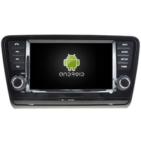 Autoradio Android 5.1 GPS DVD Skoda Octavia depuis 2013