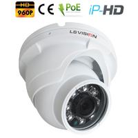 Caméra Dome IP POE Infra rouge IR15M - lentille fixe 3.6mm - IP66 - 960P 1,3 MegaPixels