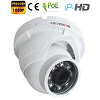 Caméra Dome IP POE Infra rouge IR15M - lentille fixe 3.6mm - IP66 - 1080P 2.0 MegaPixels