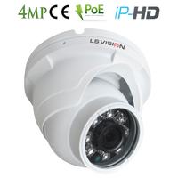 Caméra Dome IP POE Infra rouge IR15M - lentille fixe 3.6mm - IP66 - 4.0 MegaPixels