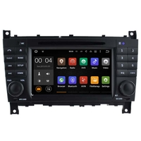 Autoradio Android 5.1 GPS Mercedes Benz Classe C W203 & CLC