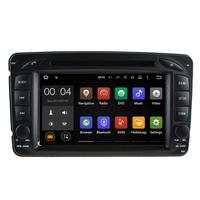Autoradio Android 5.1 écran tactile GPS Mercedes Classe A W168, Classe C W203, Classe E W210, ML W163, CLK, SLK W170, Classe G, Viano & Vito
