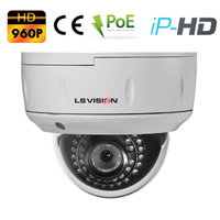 Caméra Dome IP POE vision nocturne IR20M - lentille varifocale 2.8-12mm - IP66 - 1,3 MegaPixels 960P