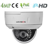 Caméra Dome IP POE vision nocturne IR20M - lentille varifocale 2.8-12mm - IP66 - 4.0 MegaPixels