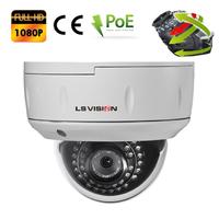 Caméra Dome IP POE motorisée 2.8-12mm avec Zoom Optique X4 - IP66 - 2.0 MegaPixels 1080P Full HD