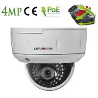 Caméra Dome IP POE motorisée 3.35-10.05mm avec Zoom Optique X3 - IP66 - 4.0 MegaPixels